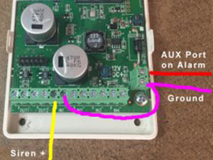 wiring diagram for cellular unit